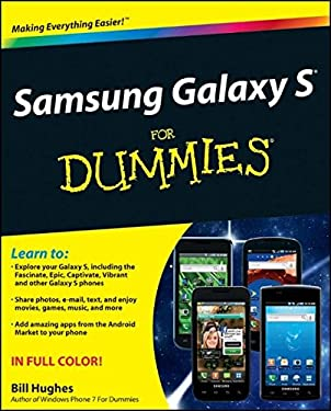 Samsung Galaxy S for Dummies 9781118024478