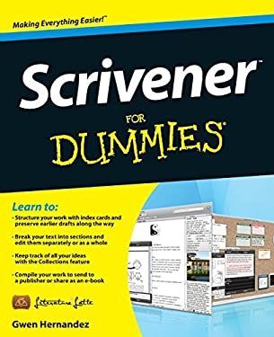Scrivener for Dummies 9781118312476
