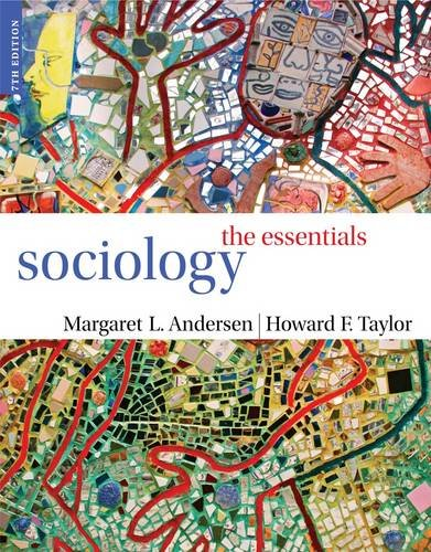 Sociology: The Essentials 9781111831561