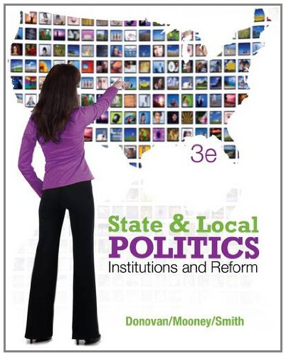 State and Local Politics: Institutions and Reform 9781111833107