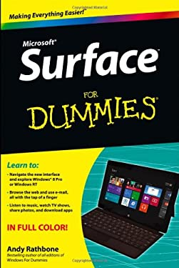 Surface for Dummies 9781118496343