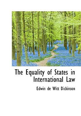 The Equality of States in International Law 9781115273503