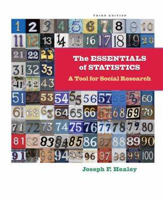 The Essentials of Statistics: A Tool for Social Research 9781111829568