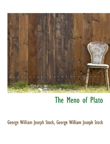 The Meno of Plato 9781116499469