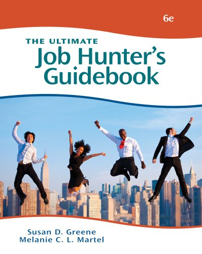 The Ultimate Job Hunter's Guidebook 9781111531768