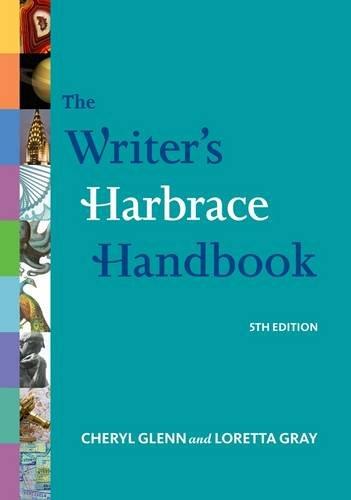 The Writer's Harbrace Handbook 9781111354299