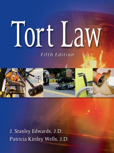 Tort Law 9781111312152