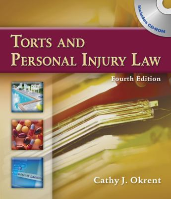 Torts and Personal Injury Law 9781111319144