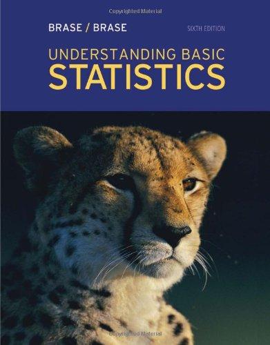 Understanding Basic Statistics 9781111827021