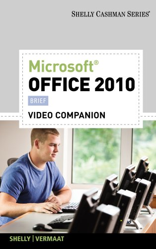 Video DVD for Shelly/Vermaat's Microsoft Office 2010: Brief 9781111527839