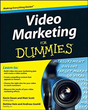 Video Marketing for Dummies 9781118188767