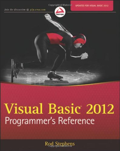 Visual Basic 2012 Programmer's Reference 9781118314074
