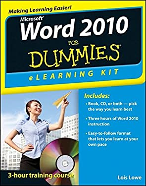 Word 2010 eLearning Kit for Dummies [With CDROM] 9781118336991