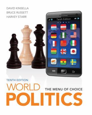 World Politics: The Menu for Choice 9781111772017