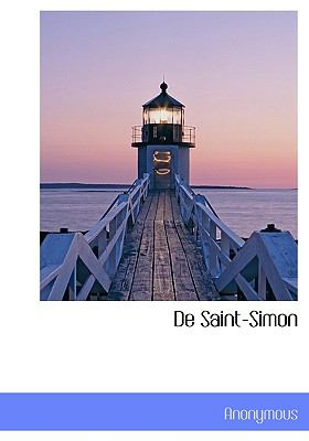 de Saint-Simon 9781117993133