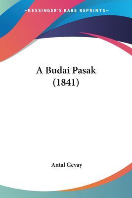 A Budai Pasak (1841) 9781120110091