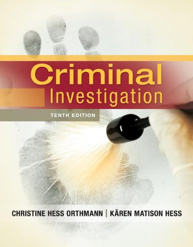 Criminal Investigation 9781133018926