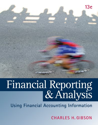 Financial Reporting and Analysis (with Thomsonone Printed Access Card) 9781133188797