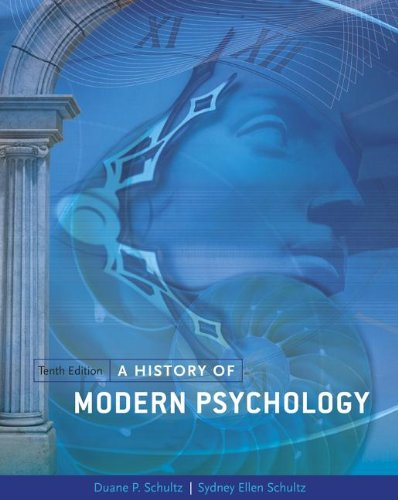 A History of Modern Psychology 9781133316244