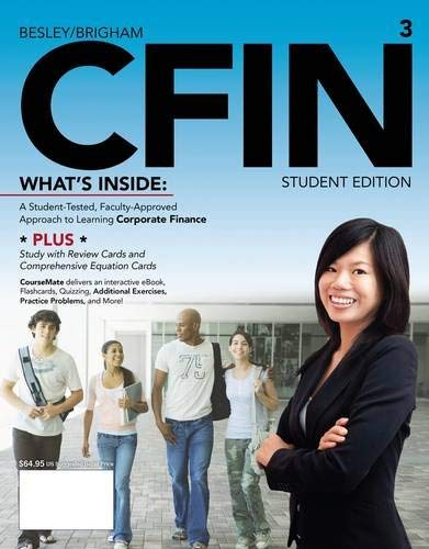 Cfin 3 (with Finance Coursemate with eBook Printed Access Card) 9781133626404