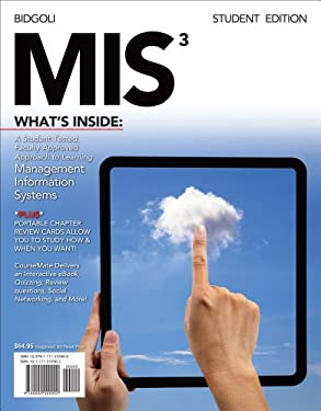 MIS 3 (with Computing Coursemate with eBook Printed Access Card) 9781133627302