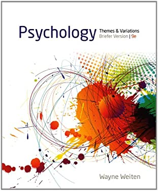 Psychology: Themes and Variations, Briefer Version 9781133939061