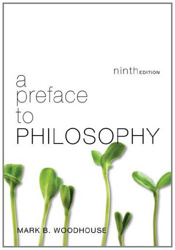 A Preface to Philosophy 9781133050032