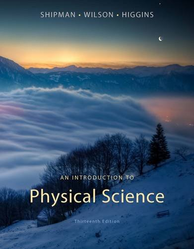 An Introduction to Physical Science 9781133104094
