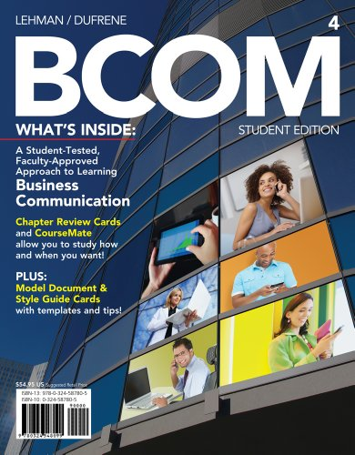 Bcom (with Business Communication Coursemate with eBook Printed Access Card) 9781133372431