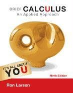 Brief Calculus: An Applied Approach 9781133109488