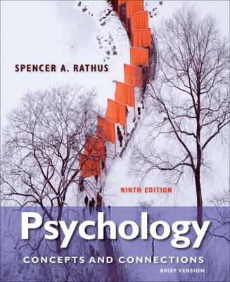 Cenage Advantage Books: Psychology: Concepts & Connections, Brief Version 9781133049852