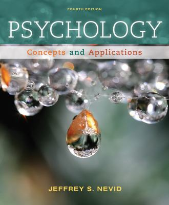 Cengage Advantage Books: Psychology: Concepts and Applications 9781133310273