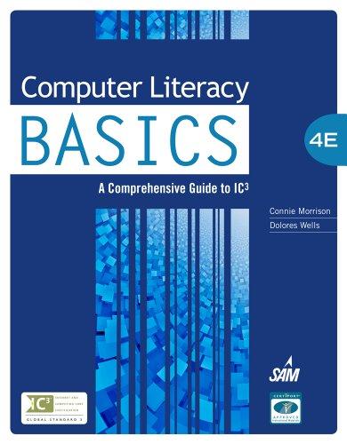 Computer Literacy Basics 9781133629733