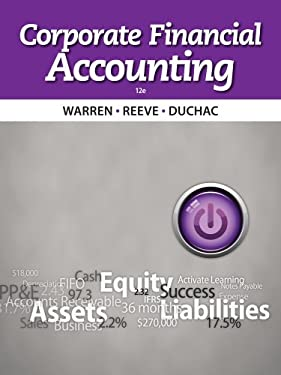 Corporate Financial Accounting 9781133952411