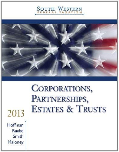 Corporations, Partnerships, Estates & Trusts, Professional Edition [With CDROM] 9781133495574