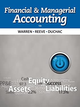 Financial & Managerial Accounting 9781133952428