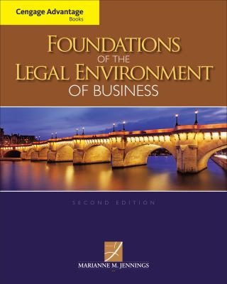 Foundations of the Legal Environment of Business 9781133187523