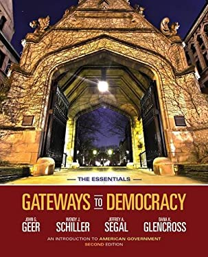 Gateways to Democracy: An Introduction to American Government, the Essentials (with Aplia Printed Access Card) 9781133607809
