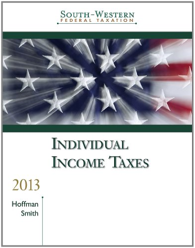 Individual Income Taxes, Professional Edition [With CDROM] 9781133189558