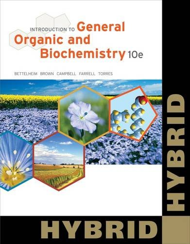 Introduction to General, Organic and Biochemistry (Hybrid) 9781133109822