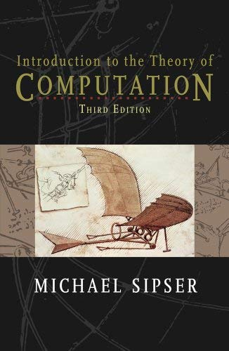 Introduction to the Theory of Computation - 3rd Edition