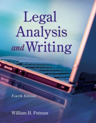 Legal Analysis and Writing 9781133016540