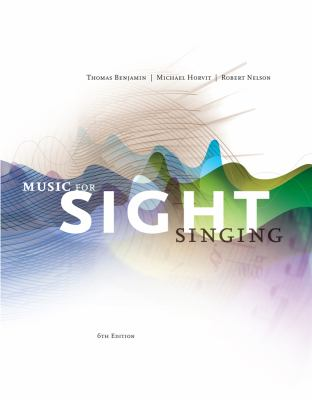 Music for Sight Singing 9781133307976