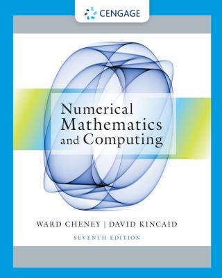 Numerical Mathematics and Computing 9781133103714