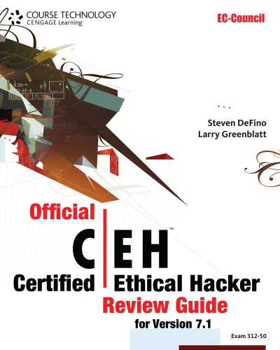 official certified ethical hacker review guide by steven defino pdf