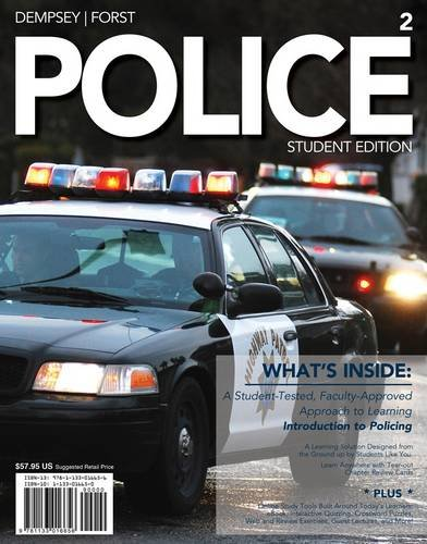 Police (with Criminal Justice Coursemate with eBook Printed