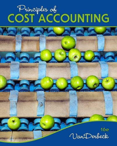 Principles of Cost Accounting 9781133187868