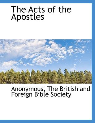 The Acts of the Apostles 9781140379331