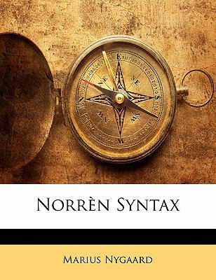 Norr N Syntax 9781141937851