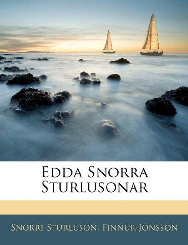Edda Snorra Sturlusonar 9781142144623